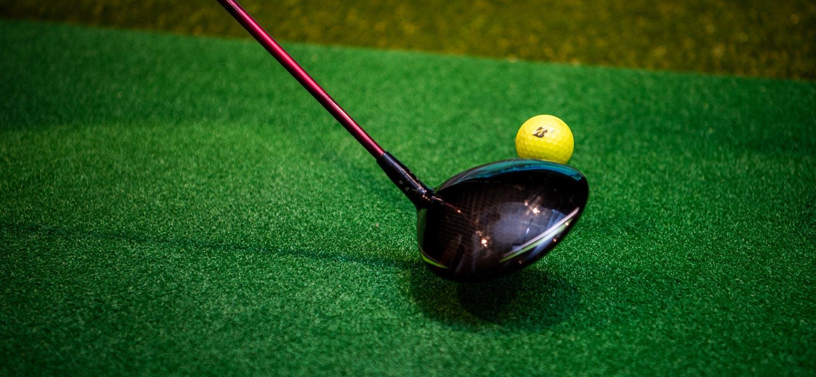 シェアゴルフ八事 クラブとゴルフボール